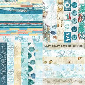 Picture of Sweet Summer Border Strips - Set 12